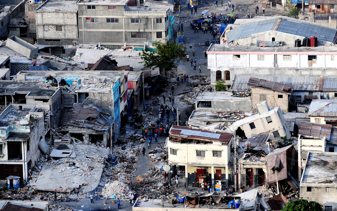 Between competition and compliance: NGOs in post-earthquake Haiti